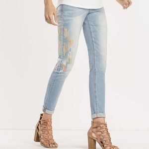 | Miss Me | ankle skinny. Size 25.